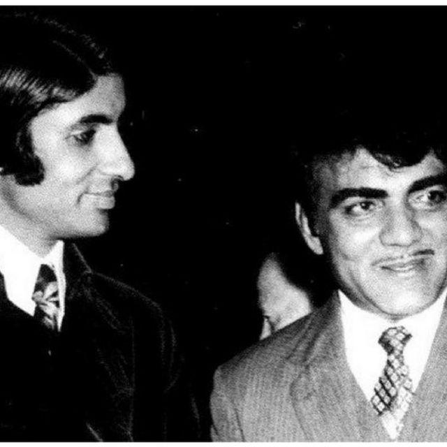 अमिताभ बच्चन महमूद के साथ
