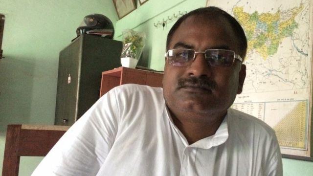 नईमुद्दीन अंसारी, ज़िला सचिव, भाकपा (माले)