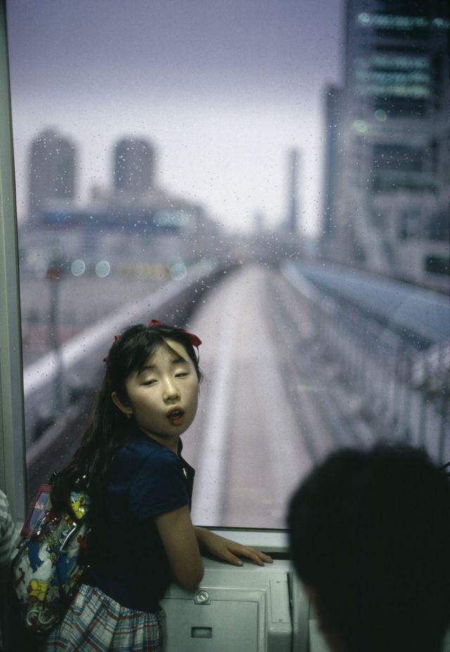 Tokio metrosunda, 1996-cı il.