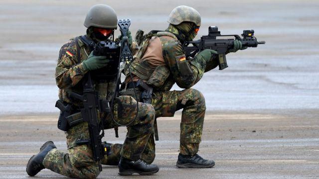 Alman askerleri