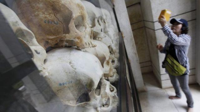 El Centro de Genocidio Choeung Ek en Phnom Penh
