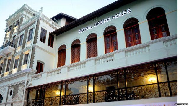 MUMBAI OPERA HOUSE