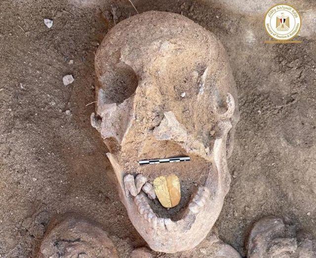 Phát hiện vào tháng Hai 2021 tại đền Taposiris Magna