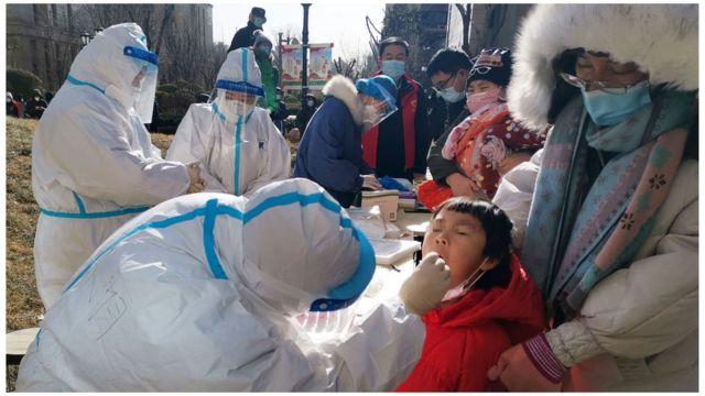 从周三开始,石家庄开始进行全市核酸检测