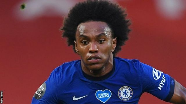 Willian passes Arsenal medical as Pierre-Emerick Aubameyang contract agreement nears