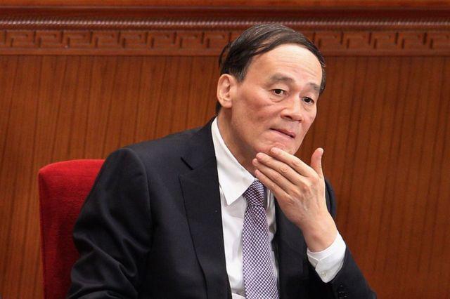 Wang Qishan, en una imagen de 2012.