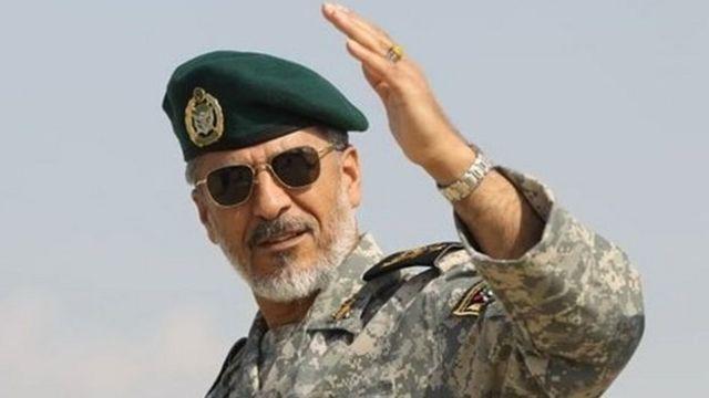 """حبیب الله سیاری فرمانده نیروی دریایی ارتش ایران می گوید """"مواخذه"""" شده"""