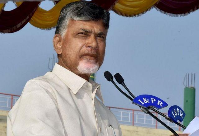 तेलुगू देसम पार्टी के प्रमुख एन चंद्रबाबू नायडू
