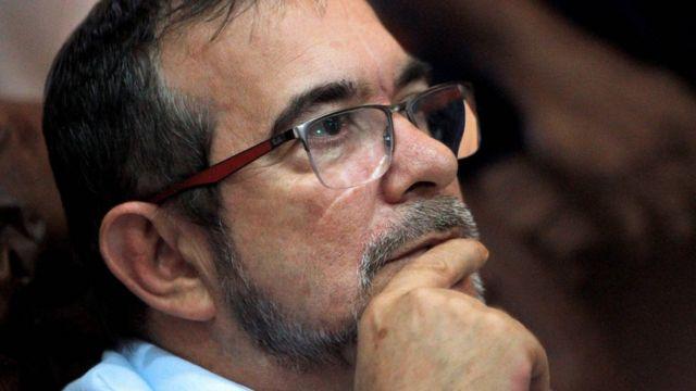 Rodrigo Londoño en La Habana