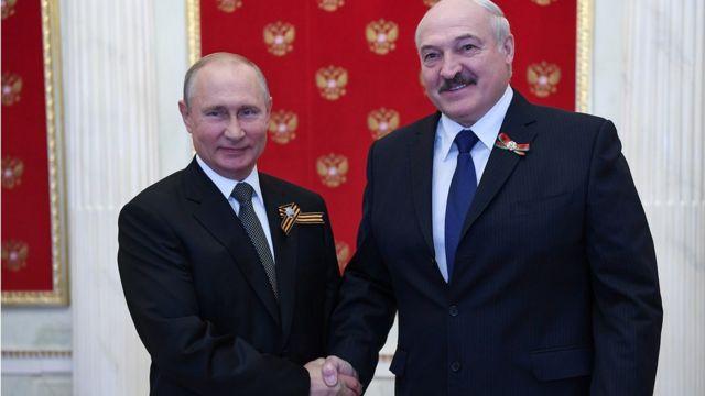 Владимир Путин, Александр Лукашенко с победой на выборах. ЕС может эту победу не признать