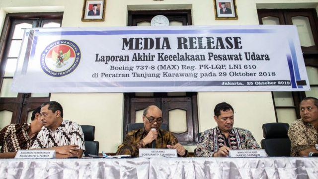 Laporan hasil investigasi Lion Air