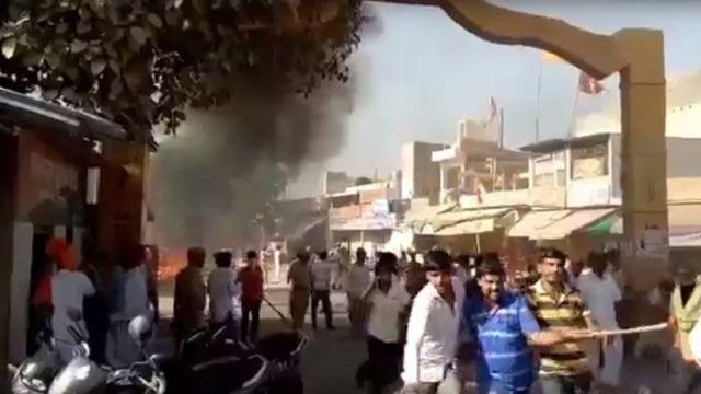 पाली में हिंसा