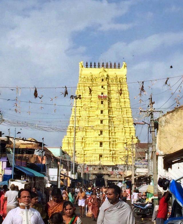 Templo. Foto de Vidya Nair