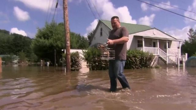 West Virginia floods survivor