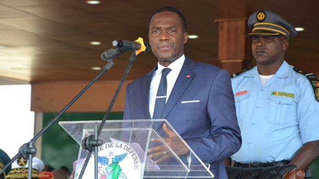 Cameroon Defence Minister Joseph Beti Assomo