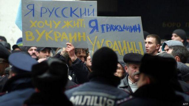 Основою проукраїнського мітингу у Сімферополі були кримські татари
