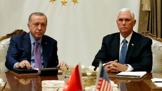 Эрдоган и Пенс