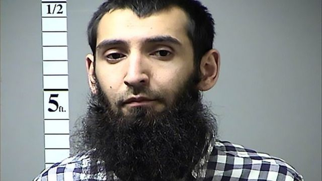 Ana tuhumar Sayfullo Saipov da goyon bayan kungiyar IS da ke ikirarin jihadi da kuma kashe mutum 8.