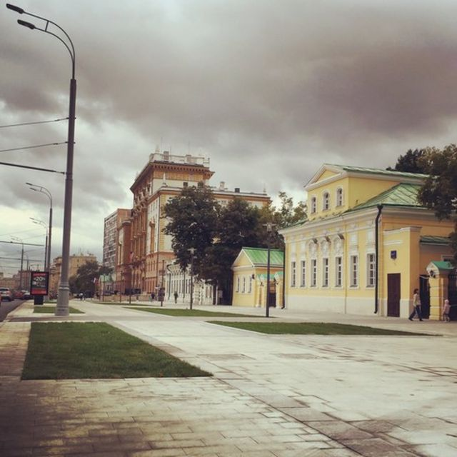 Улицы Москвы после реконструкции