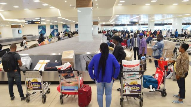 Ghana international flights dey resume afta months of Covid-19 restrictions - See how you fit qualify to use di airports from now on - BBC News Pidgin