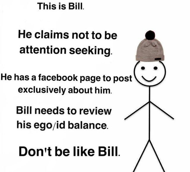 A stickman called Bill