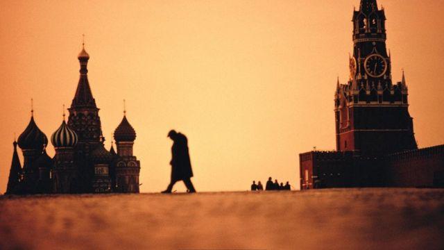 закат красная площадь