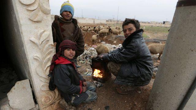 Anak-anak dari Aleppo