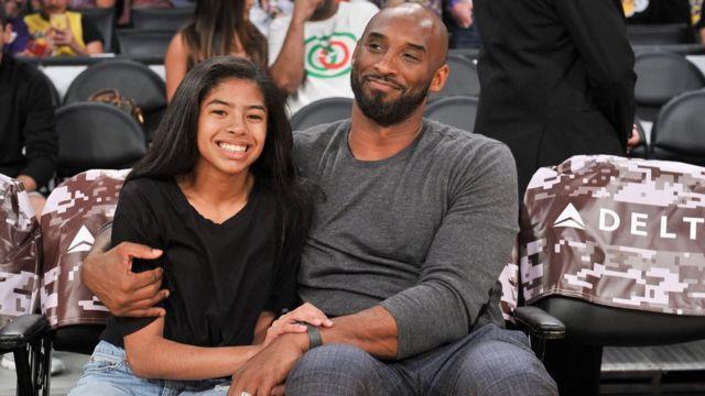 Kobe Bryant na nwa ya nwaanyị