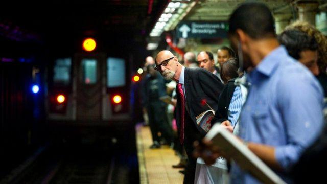 В метро Нью-Йорка