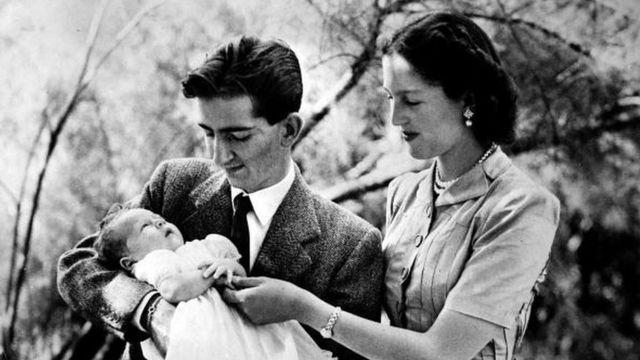 Bebé y padres