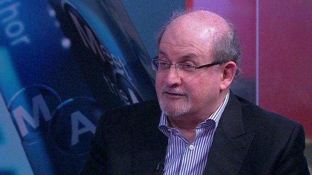 Salmon Rushdie- an author that inspires me.