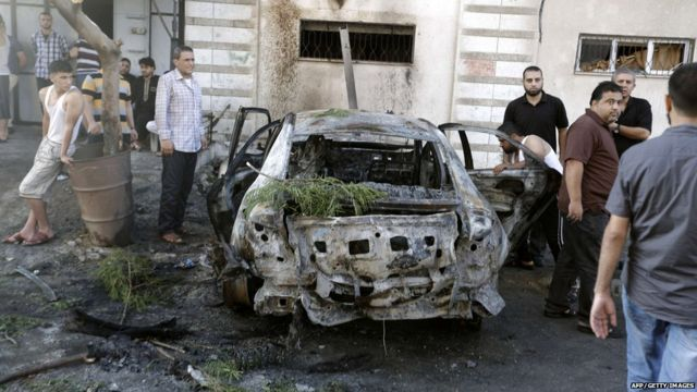 Gaza explosions target officials' cars
