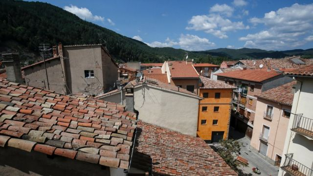 View from the flat of Es Satty in Ripoll