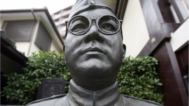 A statue of Subhash Chandra Bose
