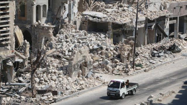 пригород Алеппо