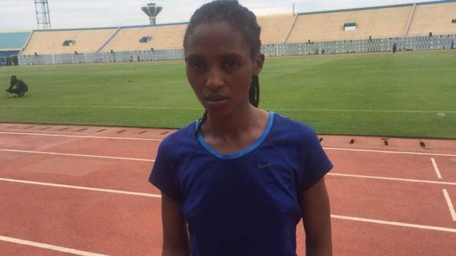 Mkimbiaji wa Rwanda Salome Nyirarukundo
