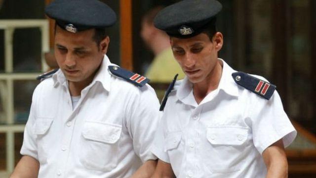 أمناء شرطة مصريون