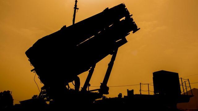 Пусковая установка комплекса Patriot