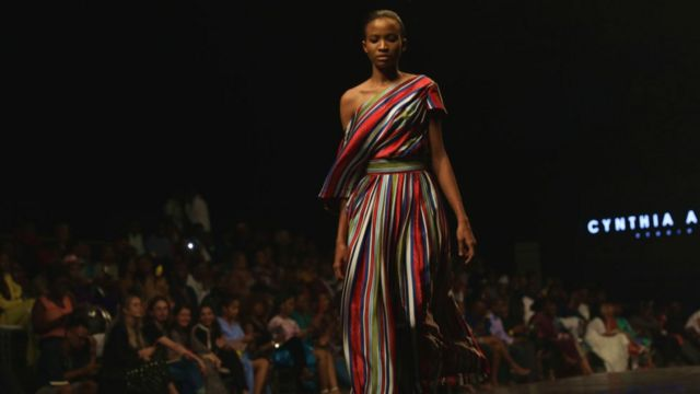 Many pipo like say dis year designers use plenti colour for dia cloth