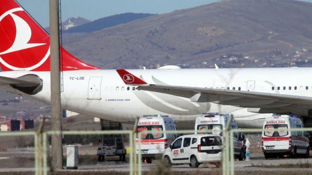 هواپیمای خطوط هوایی ترکیه