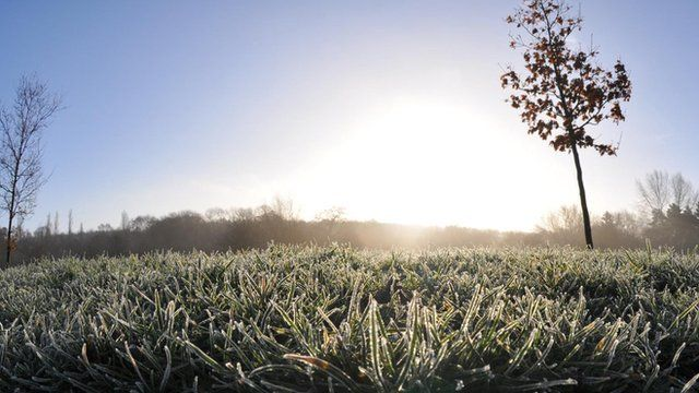 How does frost form? - BBC News
