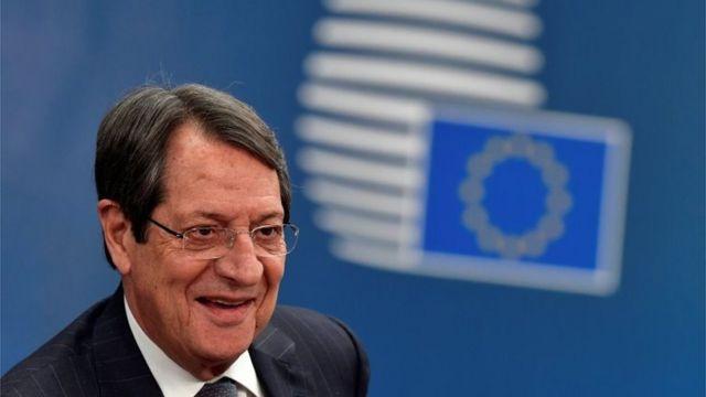 Νίκος Αναστάτης, Πρόεδρος της Κύπρου