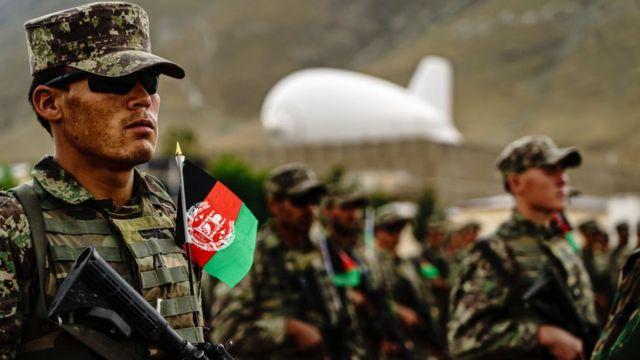अफगान सैनिक