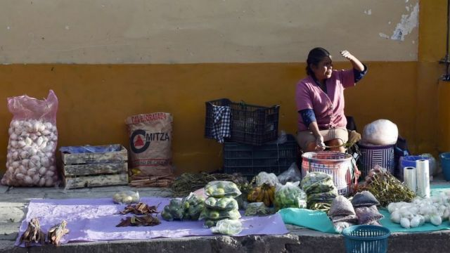 Vendedora en México