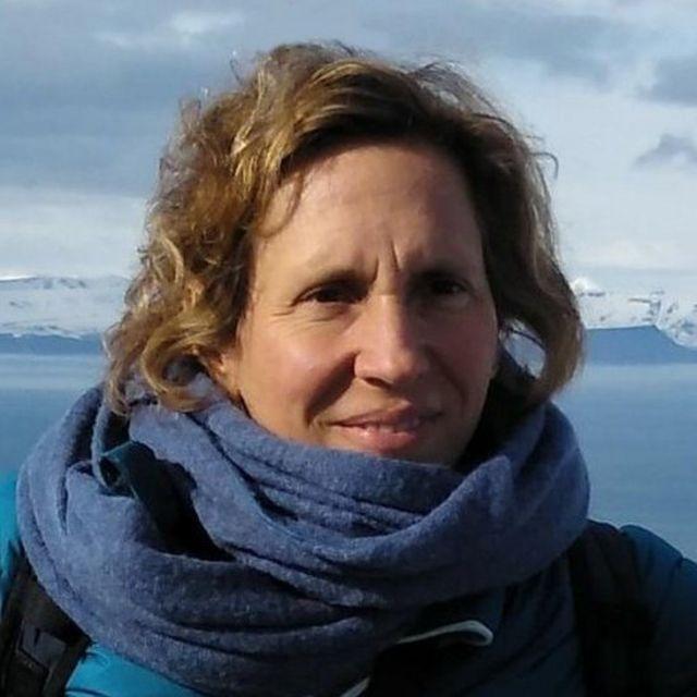 Carolina Gabarro en el Ártico en la Misión Mosaic