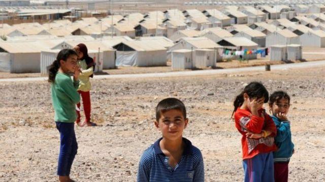 Jordanie, réfugiés
