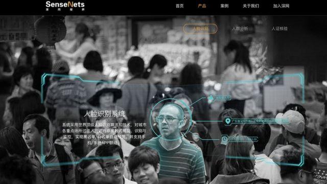 Página web de SenseNets.