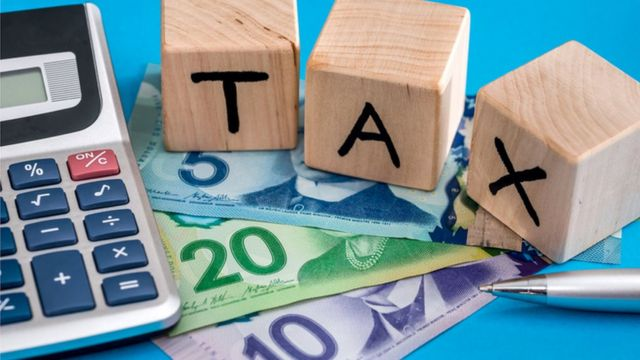 Dinero e impuestos en Canadá.