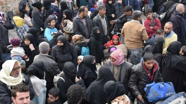 صور نازحين سوريين