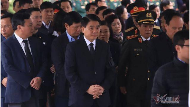 Ông Nguyễn Đức Chung, Chủ tịch Hà Nội, dự tang lễ ba cảnh sát thiệt mang trong vụ đụng độ ở Đồng Tâm hôm 9/1
